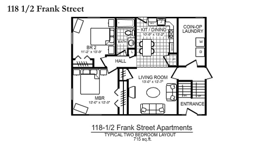 118 1 2 Frank Street Apartments In Scranton Pa