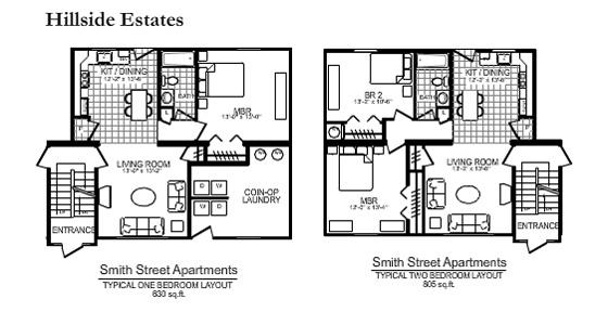 131 Smith Street Hillside Estates Apartments In Scranton Pa
